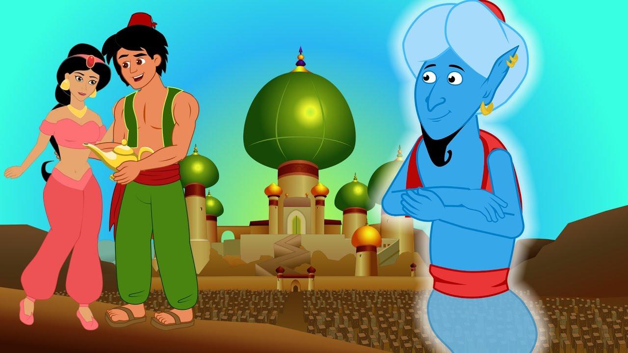 Download Aladin und die Wunderlampe kinder geschichte - märchen für kinder - Gute Nacht Geschichte