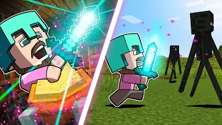 Who Can Get The Best Enchantment?! | Minecraft