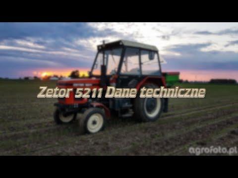 Zetor 5211 Dane Techniczne