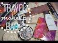 HAWAII PACKING | Travel Makeup Bag