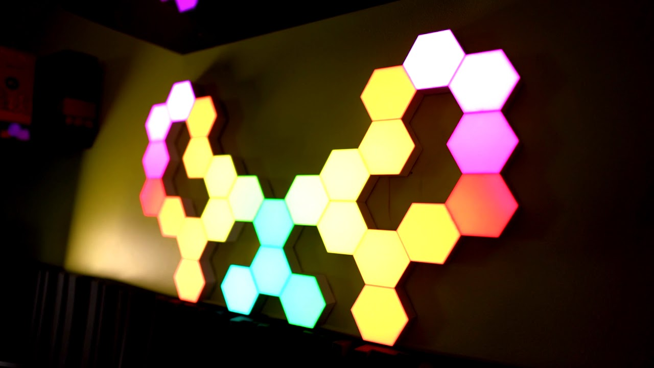 i fixed my setup with cololight rgb tiles are they a better nanoleaf and lifx alternative