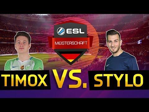ESL Meisterschaft Halbfinale | Vizeweltmeister auf der PS4 TimoX vs Newcomer Stylo!