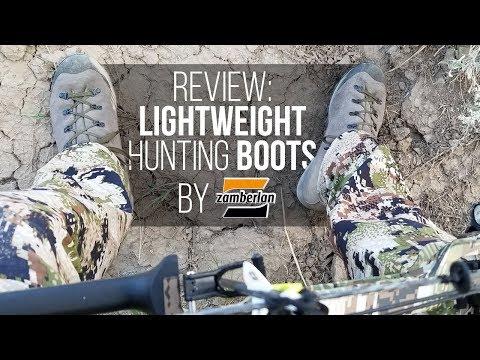 Field Testing: Lightweight Hunting Boots Zamberlan's Trackmaster