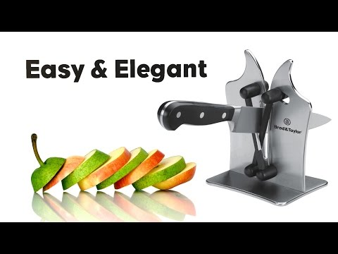 Brod & Taylor Professional Knife Sharpener - Quick Guide - Music Only