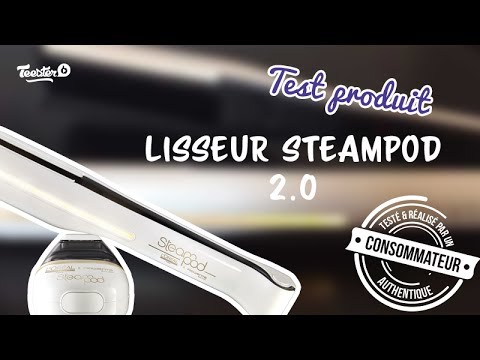 test produit lisseur l 39 oreal steampod 2 0 youtube. Black Bedroom Furniture Sets. Home Design Ideas