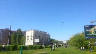9 мая. Воздушный парад.