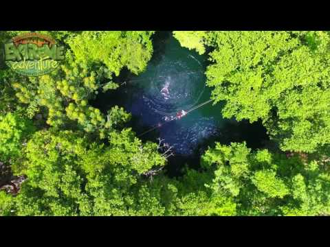 Quad bike, Zip lining & Cenote Combo at Extreme Adventure Eco Park - Video