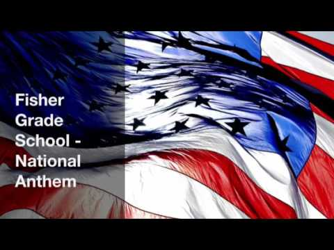 Fisher Grade School - National Anthem 2015