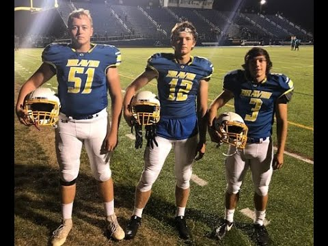Olentangy football players scoring points, raising money at same time