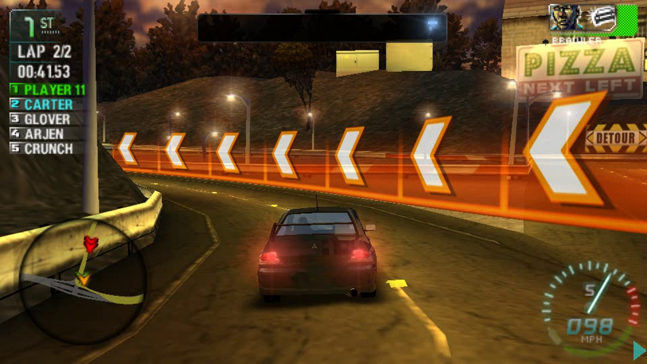 Psp Need For Speed Carbon Own The City 4k Youtube