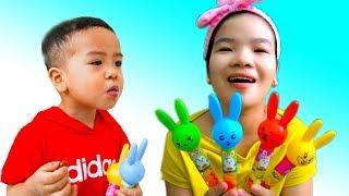 Colors Finger Family Song - Kid Songs & Nursery Rhymes for Kids