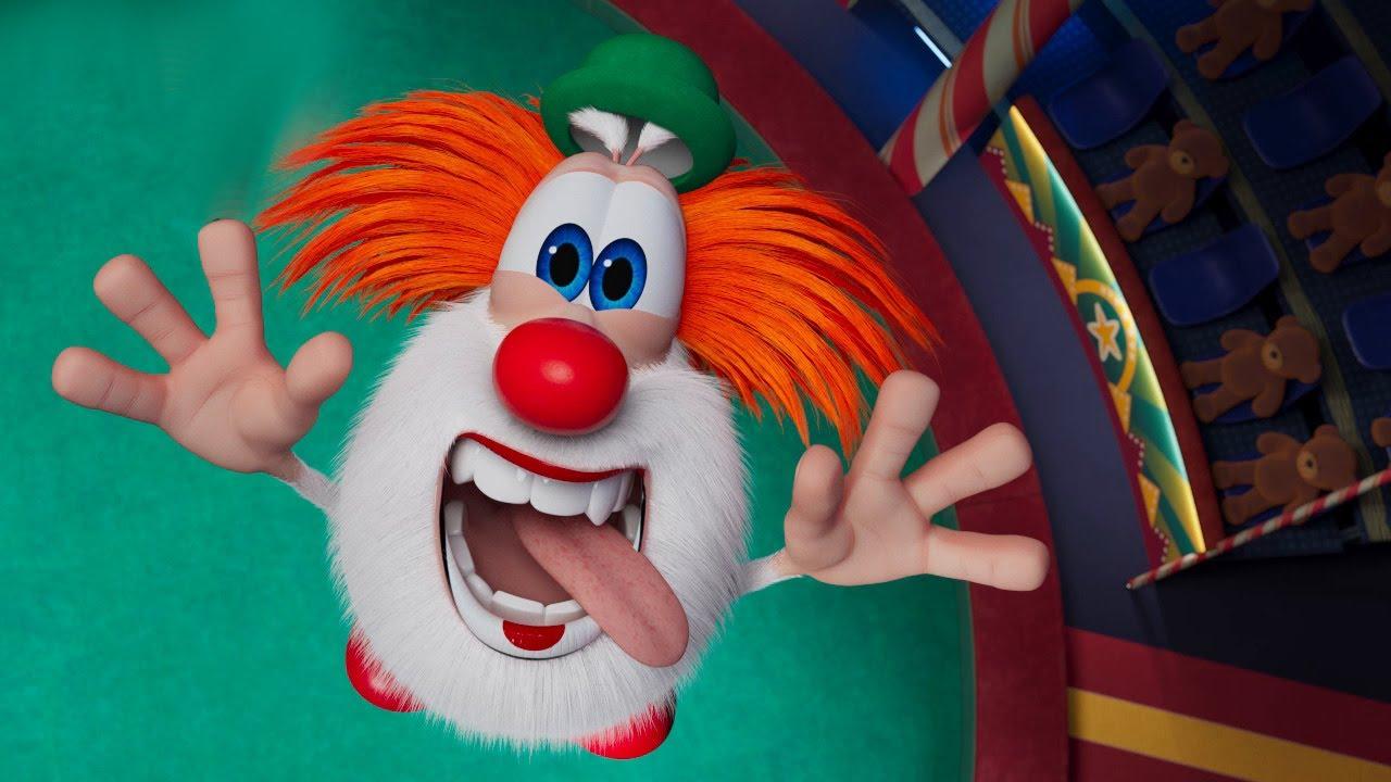 Буба Клоун в цирке Серия - Весёлые мультики для детей - БУБА МультТВ