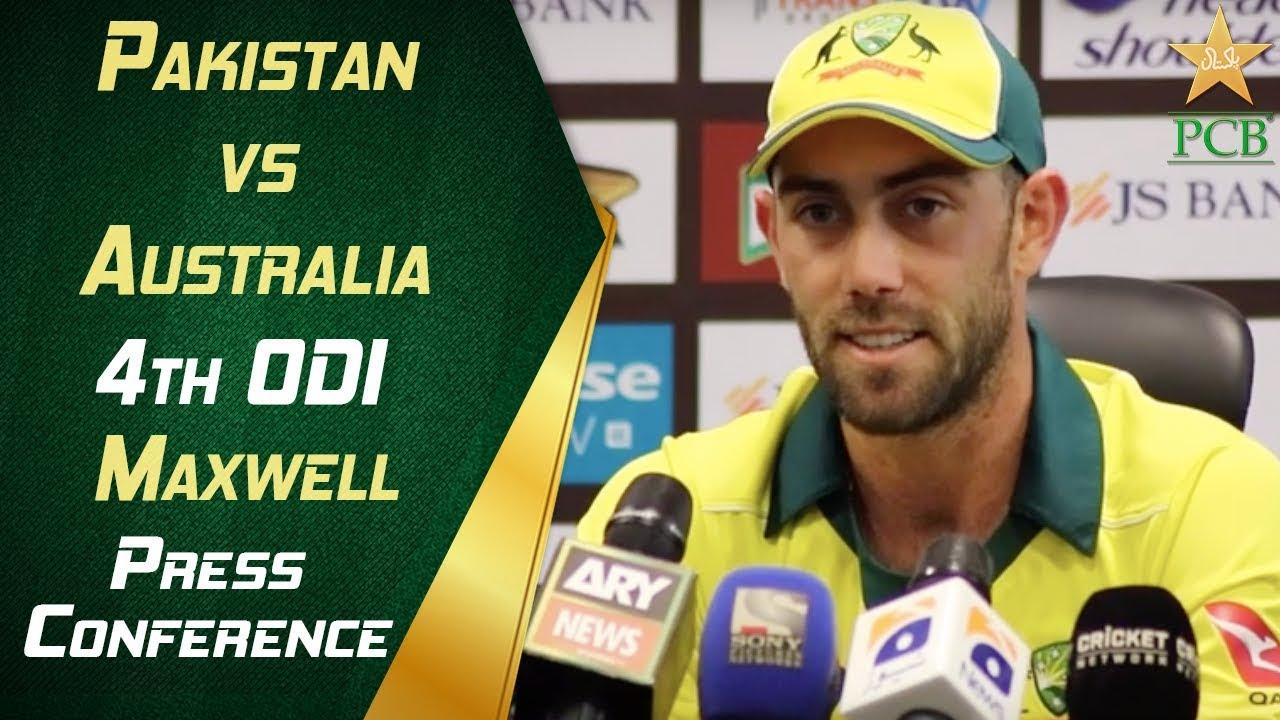 Pakistan vs Australia 4th ODI - Glenn Maxwell post match press conference | PCB