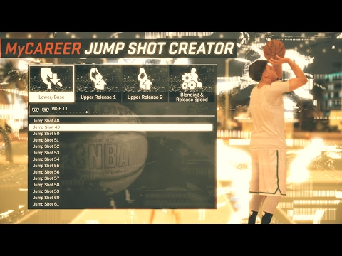 SECRET TIPS TO CRAFT THE DEADLIEST JUMP SHOT IN NBA 2K17! BEST BASES, AND RELEASES!!!