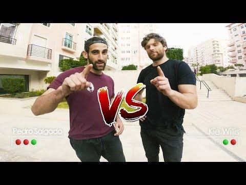 Pedro Salgado VS Kie Willis - Peter Parkour Challenge
