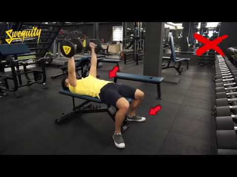 [NG06] Tập ngực - Flat Dumbbell Bench Press