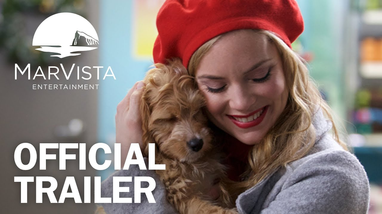 A Puppy For Christmas.Puppy For Christmas Official Trailer Marvista Entertainment