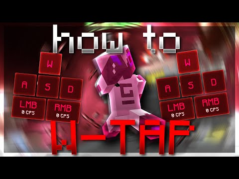 How To W-TAP In Minecraft! (PvP Tutorial)