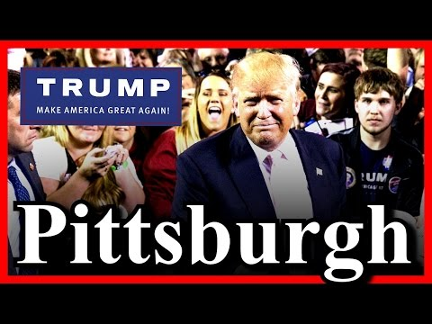 LIVE Donald Trump Pittsburgh Pennsylvania Rally FULL SPEECH HD STREAM (4-13-16) 7:00 PM EDT ✔