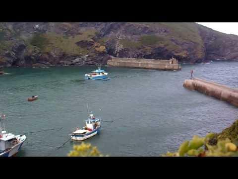 Port Isaac, Small Cornish Fishing Village