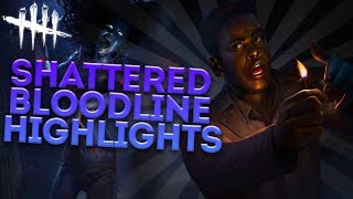 SHATTERED BLOODLINE HIGHLIGHTS! (Dead by Daylight Random Moments Ep. 58)