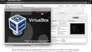 Set up Kali Linux and Metasploitable 2 virtual machines in VirtualBox
