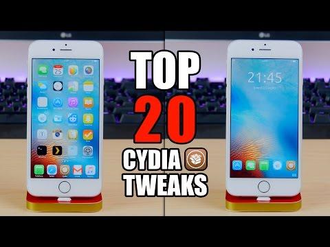 TOP 20 Cydia Tweaks per iOS 9.3.3, 9.2 & iOS 9!