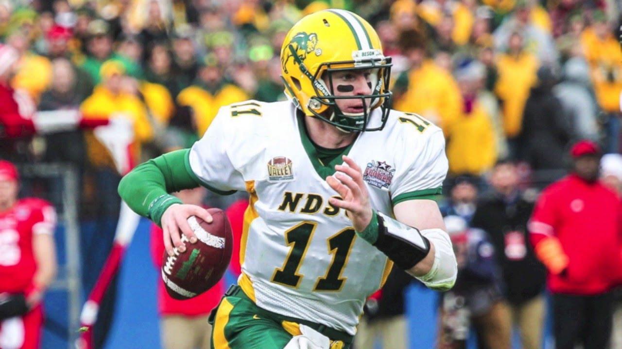 reputable site 417cd 3379c Carson Wentz Highlights HD | North Dakota State | 2016 NFL Draft