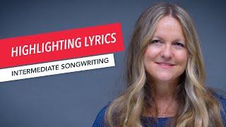 Songwriting: Melody, Harmony, and Rhythm   Highlighting Lyrics with Harmonic Rhythm   Berklee 13/24