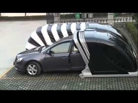 مظلة متنقلة للسيارات Youtube