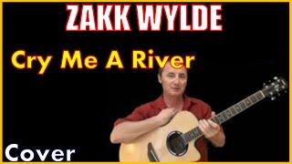 Cry Me A River Zakk Wylde  Cover