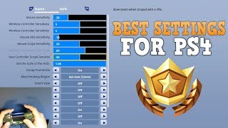 Fortnite Settings Guide for PS4