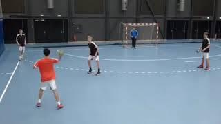 Handball  - individual attack and defence training exercise!