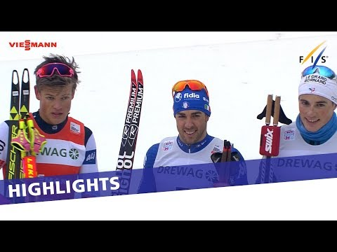 World Champion Pellegrino stuns Klaebo in Dresden | Highlights