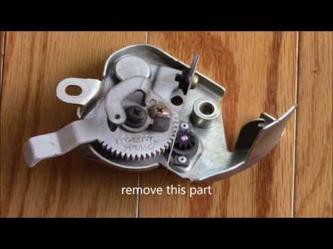Honda auto choke fix