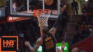 LeBron James Blocks Stephen Curry / Cavaliers vs GS Warriors thumbnail