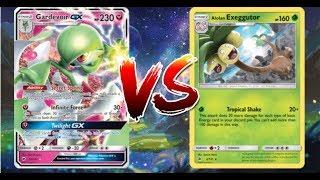 Pokemon TCG Online Gardevoir GX Sylveon GX VS Alolan Exeggutor!!