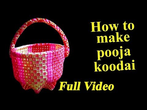 How to make pooja koodai - Full Video