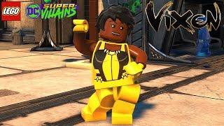 LEGO DC Super Villains Vixen Unlock + Free Roam Gameplay