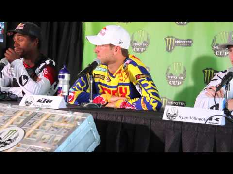 Racer X Films 2013 Monster Energy Cup Press Conference