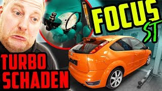 Diagnose: TURBOSCHADEN! - Ford Focus ST - Ein neues 5Zylinder Projekt!