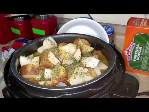 How To Pressure Cook Chicken With Potatoes