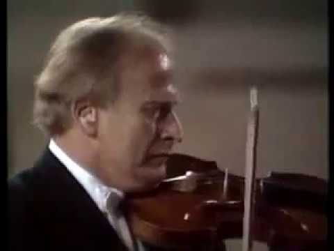 Emmy Verhey and Yehudi Menuhin  (1973) - J.S. Bach, Concerto for two violins BWV 1043