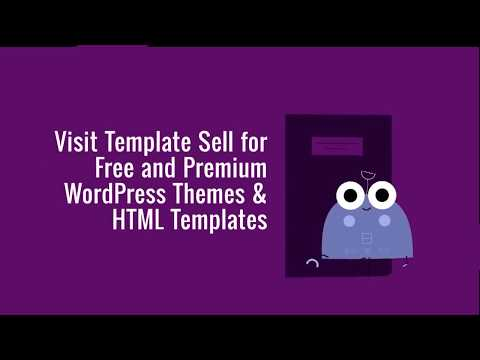 Template Sell – A Growing Marketplace for Free and Premium WordPress Themes and HTML Templates.