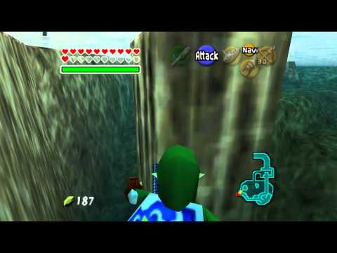 The Legend Of Zelda Ocarina Of Time Glitch - Under Ice In Zora's Domain