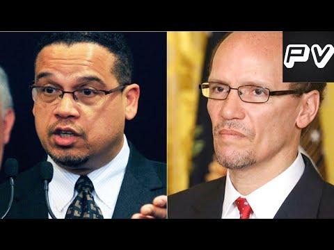 Keith Ellison CHECKS Tom Perez For Endorsing Cuomo In NY Governor Race