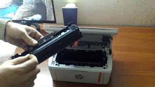 Принтер МФУ HP LaserJet Pro M28а (W2G54A) распаковка, обзор и тест