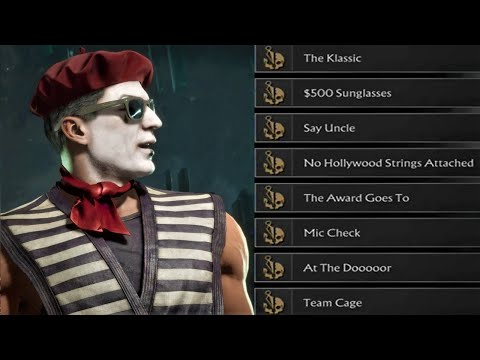 Mk11 - Johnny Cage All Brutalities Showcase