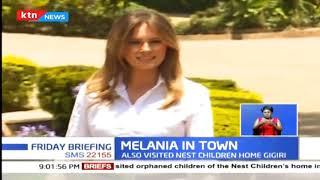 Melania Trump completes Kenyan tour