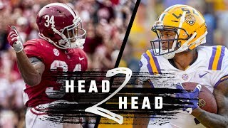 Head to Head: Alabama vs. LSU predictions